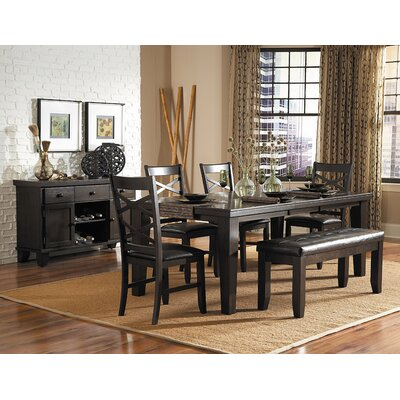 Woodbridge Home Designs Hawn 6 Piece Dining Set