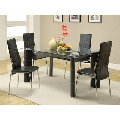 Woodbridge Home Designs Wilner 5 Piece Dining Set