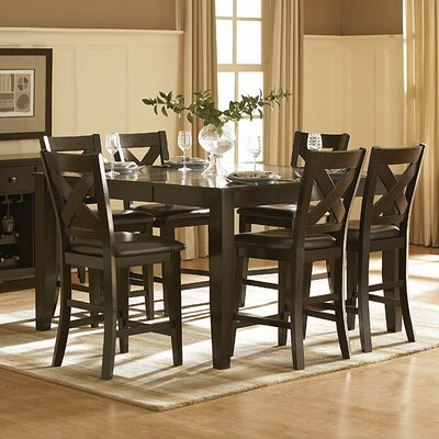 Crown Point 7 Piece Counter Height Dining Set