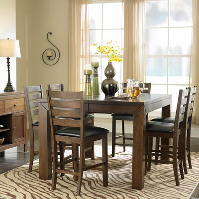Woodbridge Home Designs Eagleville 7 Piece Counter Height Dining Set