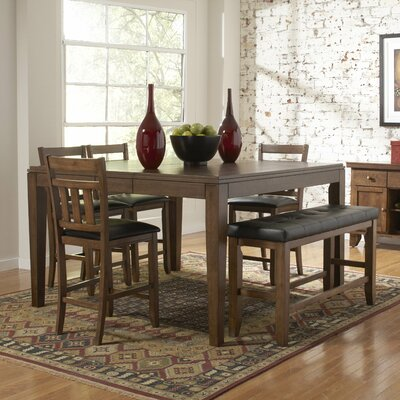 Woodbridge Home Designs Kirtland 6 Piece Counter Height Dining Set