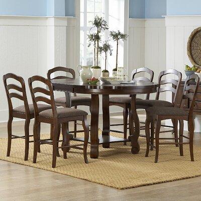 Woodbridge Home Designs Arlington 7 Piece Counter Height Dining Set