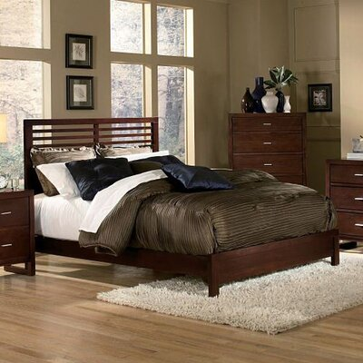 Woodbridge Home Designs 1348 Series Slat Bed