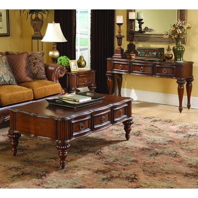 Woodbridge Home Designs 1390 Series Coffee Table Set