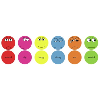 KaloKids English Emotions Kids Cushion Pack 1