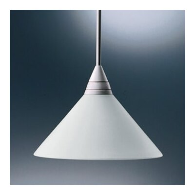 Bruck Shou 1 Light Monopoint Nikai Mini Pendant