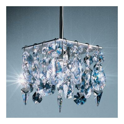 Bruck Cristello 1 Light Mini Pendant with Canopy