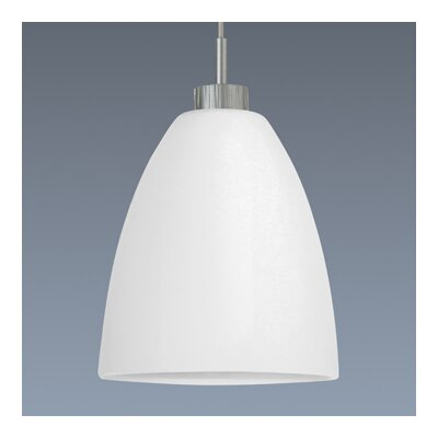 Bruck Shou 1 Light Tara Down Monopoint Mini Pendant