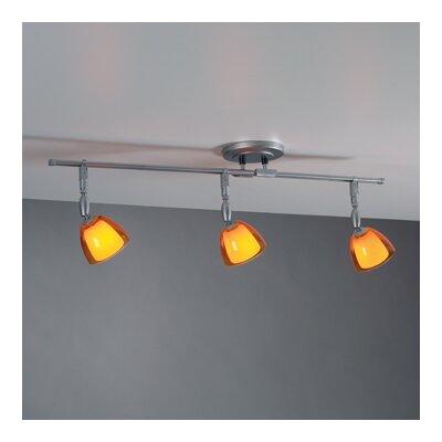 Bruck Lighting V/A Straight Track Lighting Kit with Electronic Transformer