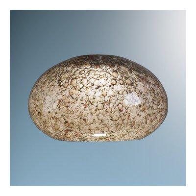 "Bruck Lighting 5.3"" Laguna Glass Round Pendant Shape"