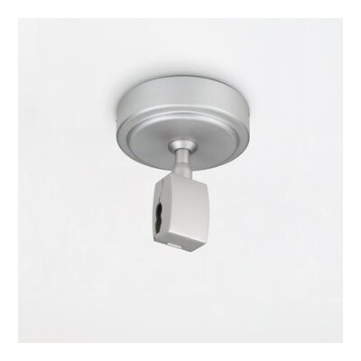 Bruck Lighting Zonyx Canopy Power Feed with 7.5 Amp Circuit Breaker in Matte Chrome