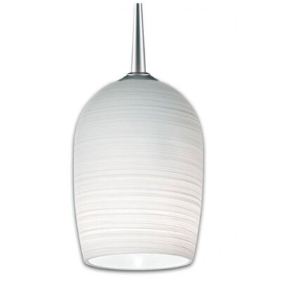 Bruck Queeny 1 Light Monopoint Down Pendant