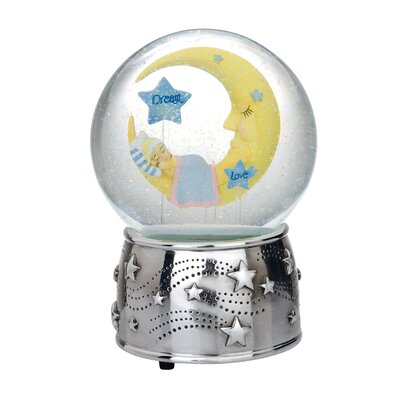 Reed & Barton Sweet Dreams Musical Water Globe