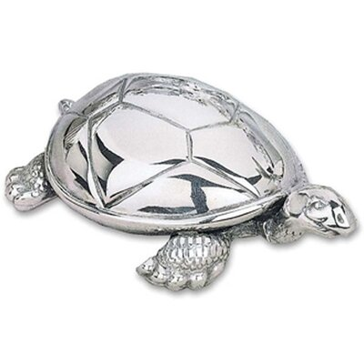 "Reed & Barton Children's Giftware 3.5"" Tortoise Music Box"