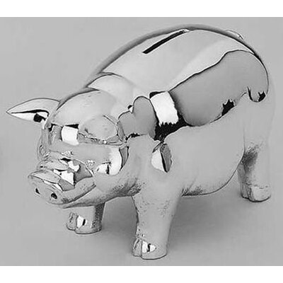 "Reed & Barton Children's Giftware 6"" Classic Piggy Bank"