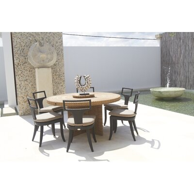 Dann Foley Rodeo 7 Piece Dining Set with Cushion