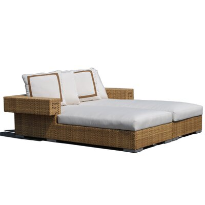 Dann Foley Hollywood Chaise Daybed with Cushions