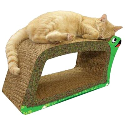 Turtle 2-in-1 Recycled Paper Cat Scratching Board