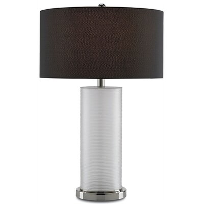 """Currey & Company Fargo 27"""" H Table Lamp with Drum Shade"""