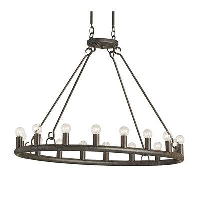 Currey & Company Wilford 16 Light Chandelier