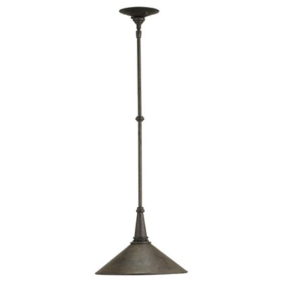 Currey & Company Manuscript 1 Light Mini Pendant