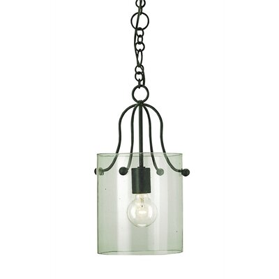 Currey & Company Hudson 1 Light Mini Pendant