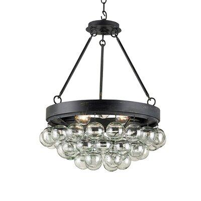 Currey & Company Balthazar 3 Light Pendant