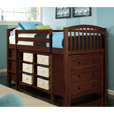 School House Junior Loft Bed With Storage Wayfair