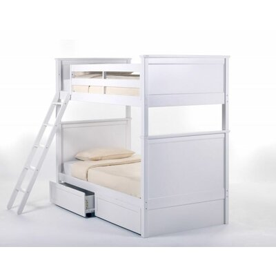 School House Taylor Bunk Bed with Optional Storage