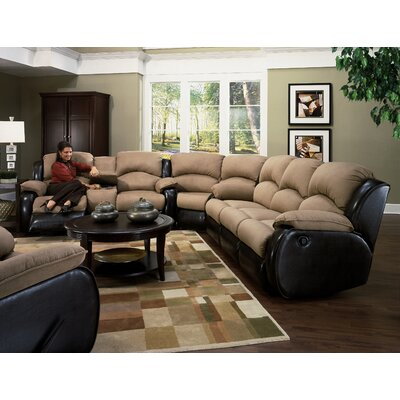 Southern Motion Jupiter Dual Reclining Sectional