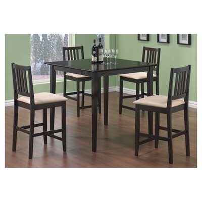 Wildon Home ® Adrian 5 Piece Counter Height Dining Set