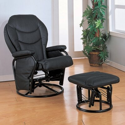 Wildon Home ® Glendale Glider Rocker and Ottoman