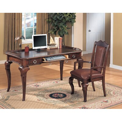Wildon Home ® McMullen Writing Desk with Keyboard Tray