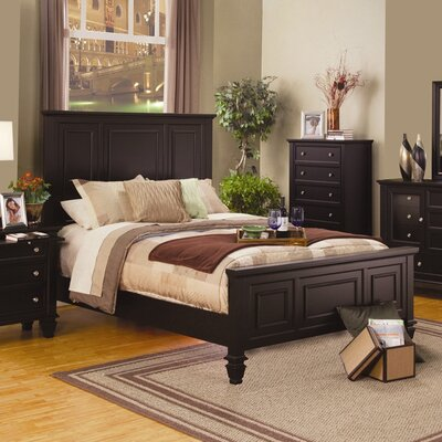 Wildon Home ® Oak Ridge Panel Bed