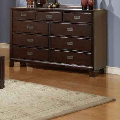 Wildon Home ® Bellwood 9 Drawer Dresser