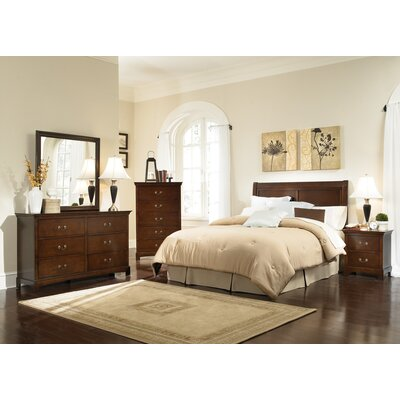 Wildon Home ® Tiffany Panel Headboard Bedroom Collection