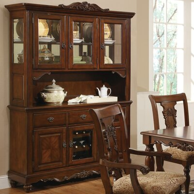 Wildon Home ® Hemingway China Cabinet