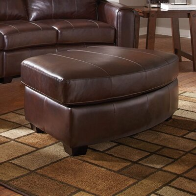 Wildon Home ® Princeton Bonded Leather Storage Ottoman