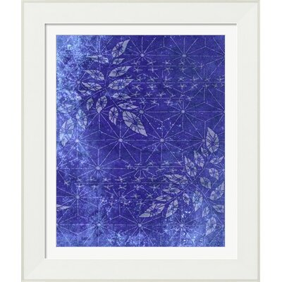Japanese Paper Floral by Evie Empire Framed Graphic Art