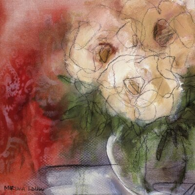 Bouquet I by Marina Louw Painting Print