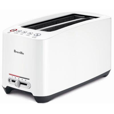 Breville Lift and Look Touch Toaster in White