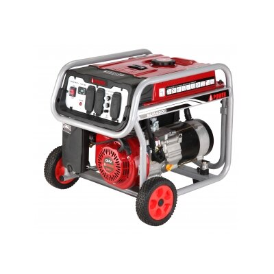 4,000 Watt Portable Gas Generator with Wheel Kit - SUA4500