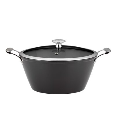 3-Qt. Cast Iron Round Casserole with Lid