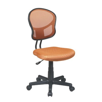 OSP Designs SpaceFlex Mid-Back Mesh Task Chair without Arms