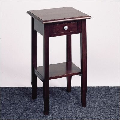OSP Designs Merlot Multi-Tiered Telephone Table