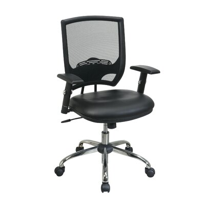 Heavy Duty Leather Office Chair | Wayfair