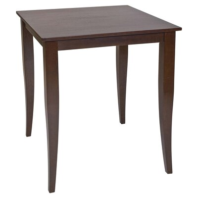 OSP Designs Jamestown Pub Table in Espresso