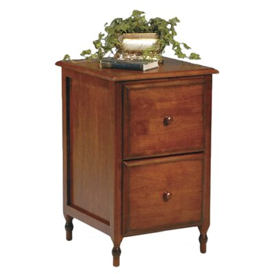 OSP Designs Knob Hill 2-Drawer File Cabinet
