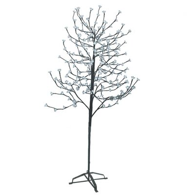 Sterling Inc. 6.5' Blossom Artificial Christmas Tree with 240 Cool White LED Lights
