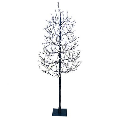 7.5' Blossom Artificial Christmas Tree with 512 Cool White LED Lights